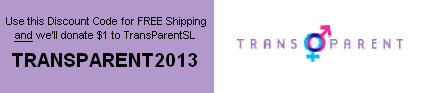 Discount Code: TransParent2013