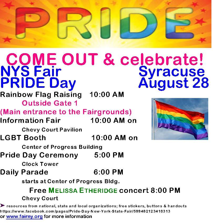 Pride Day NYS Fair